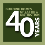 Capital Construction 40 years logo