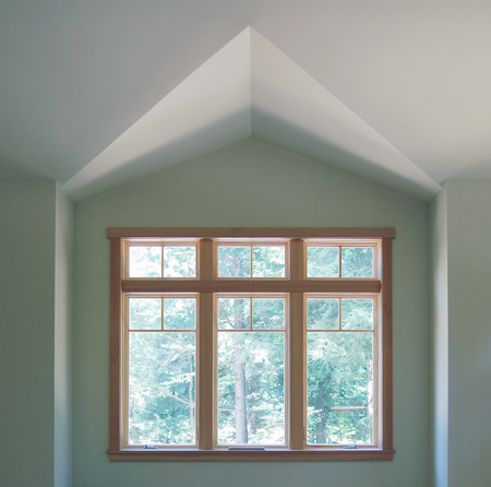 using natural light in a green home, saratoga ny