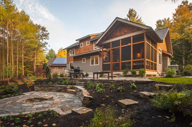 custom green homes in saratoga ny
